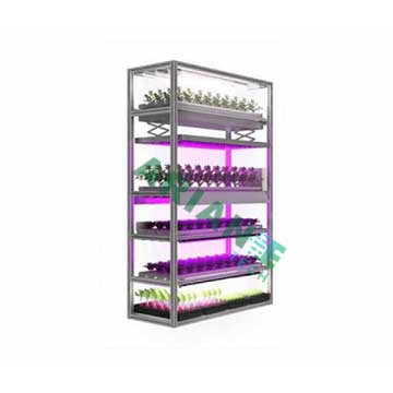 SMARTAGRO Multi-Function Vertical Indoor Cultivation Rack, Layer-Customizable Grower Agritech 4.0