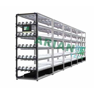 SMARTAGRO NFT Channel Hydroponics Vertical Cultivation Rack, Layer-Customizable Corps Grower Agritech 4.0