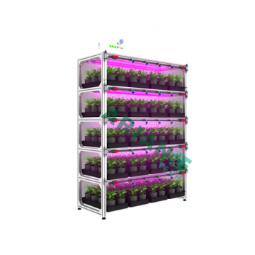 SMARTAGRO Corps Vertical Indoor Cultivation Rack, Layer-Customizable Grower Agritech 4.0