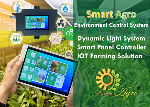 SMARTAGRO  Smart Control System-Dynamic Light Control/Tailor-made IOT System