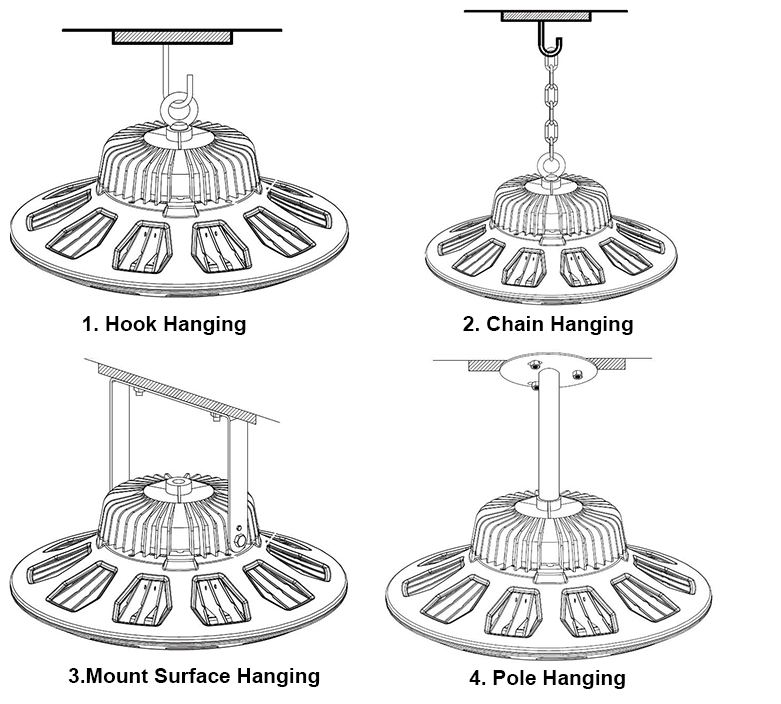 UFO-led-high-bay-light-installation1