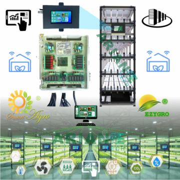 SMARTAGRO LED Light Control System, Channel-Customizable  Agritech 4.0IOT