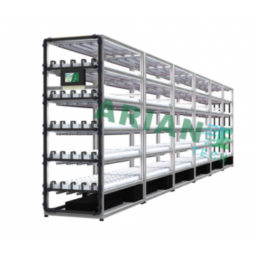 SMARTAGRO Hydroponics Cultivation Rack, Layer-Customizable Grower Agritech 4.0